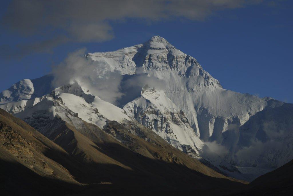 Resa Tibet och Nepal, Mt Everest sett från baslägret i Tibet