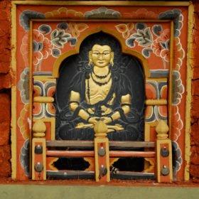 Buddha syns överallt på resa till Bhutan