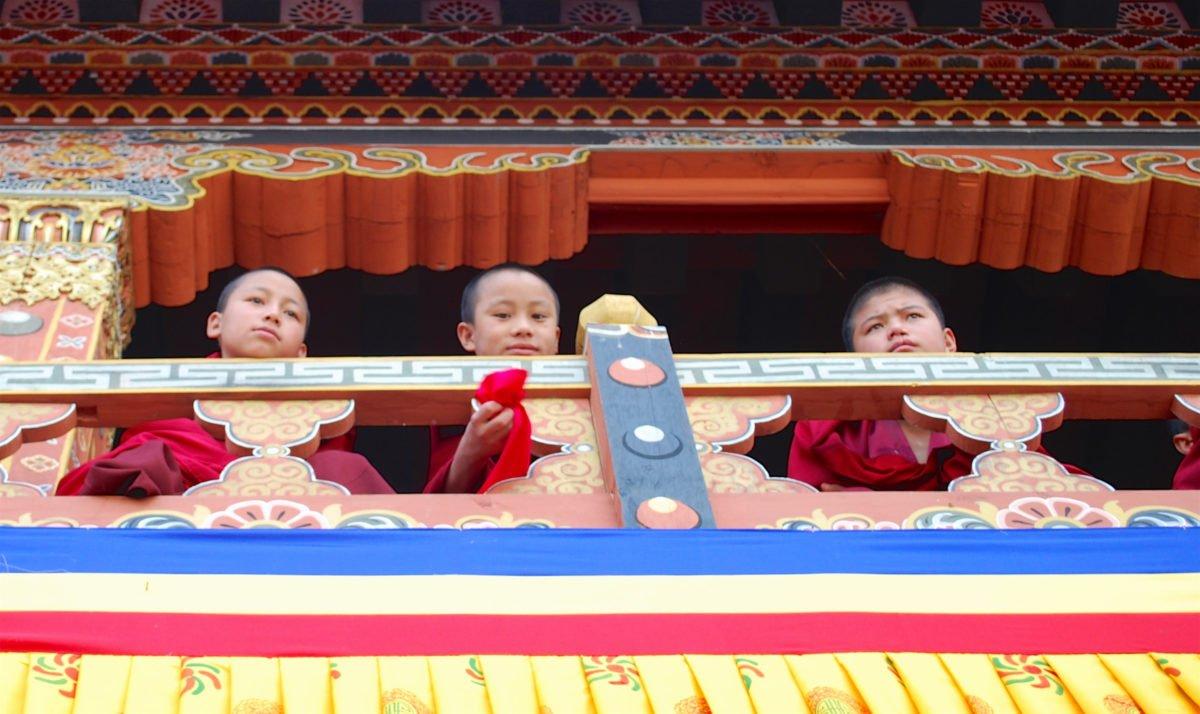 munka på Rundresa Bhutan