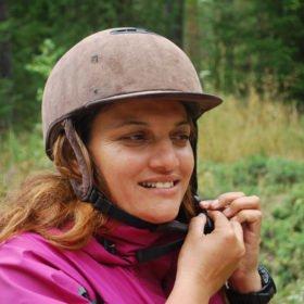 Guiden Sita på besök från Nepal