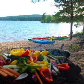 Grönsaker på grillen