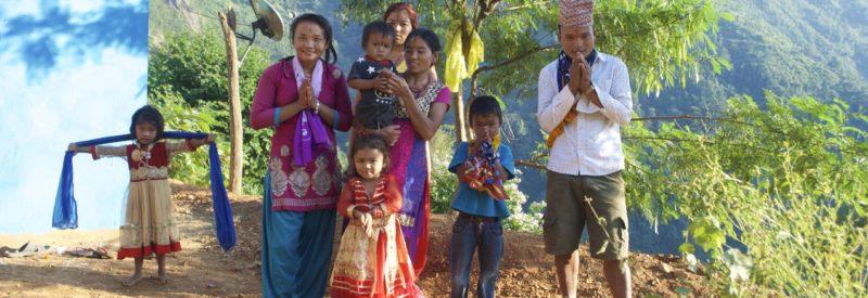 på rundresa i Nepal