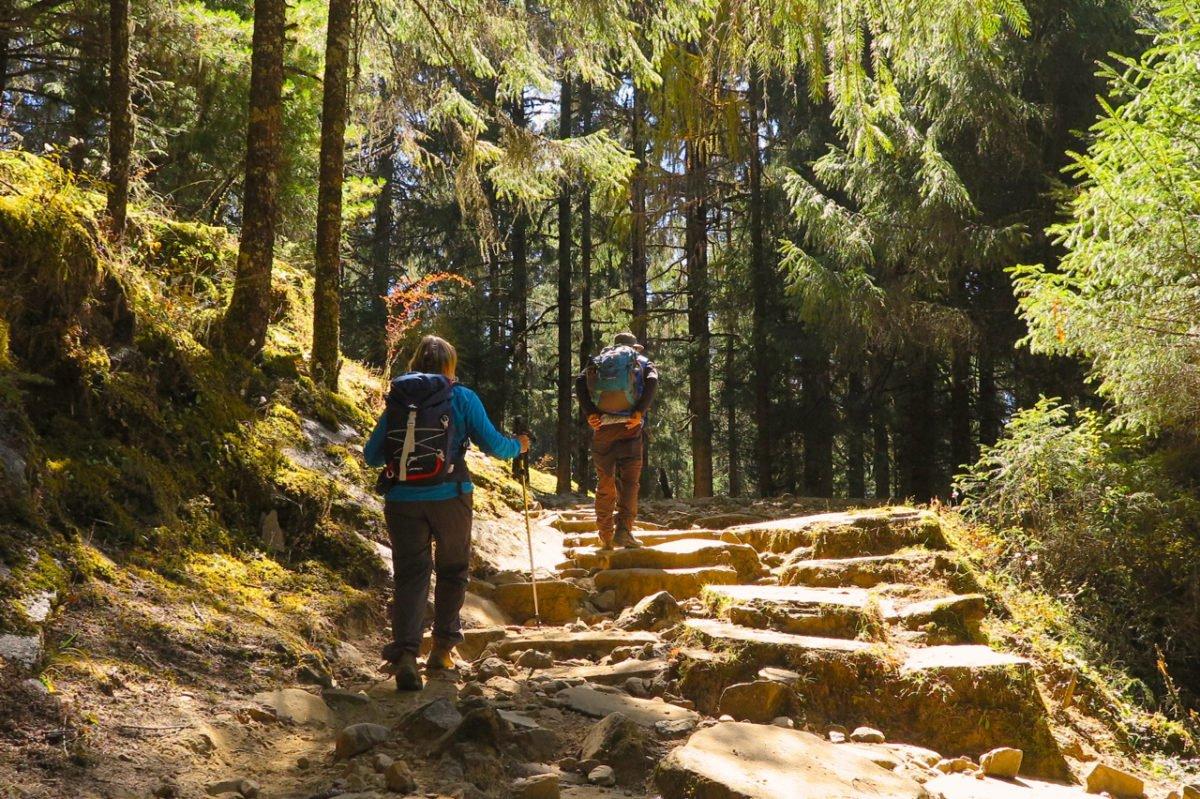 vandring i Bhutan