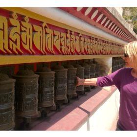Vandring i Nepal, bönesnurror