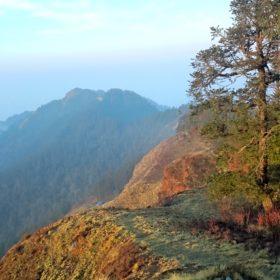 Vandring i Nepal, härliga vyer i Nepal