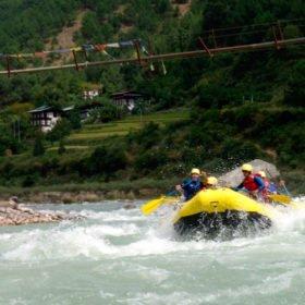 rafting i Bhutan