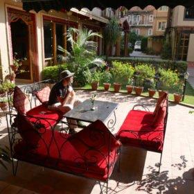 Paddlingskurs-Nepal. Hotell i Katmandu