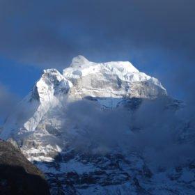 Vy på vägen till Everest Base Camp