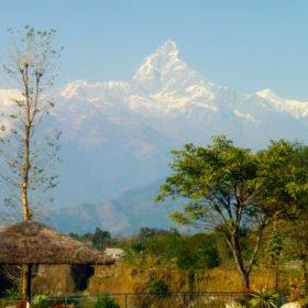 MTB Nepal, Berget Machapuchre, även kallat Fishtail