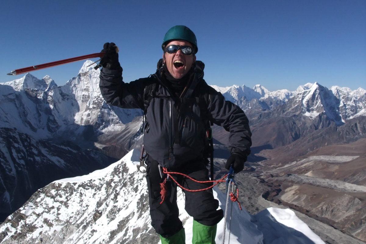 Bergsbestigning i Nepal