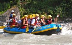 Rafting i Nepal