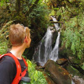 Annapurna Base Camp - ett av fler fina vattenfall på vandringen