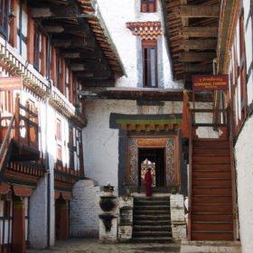 Bhutanresa, vackra Paro dzong