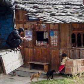 Bhutanresa, en liten kiosk