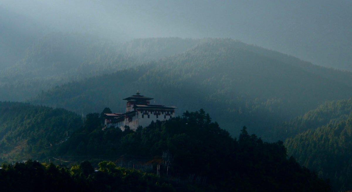 Bhutanresa, dzong
