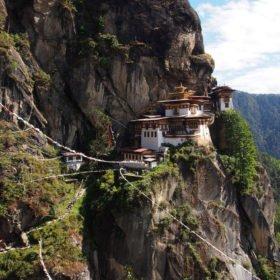 Bhutanresa, Tigerns Näste i Paro