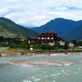Bhutanresa, Punakha dzong