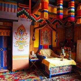 Bhutanresa, kungligt rum