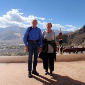 Tibetresa, fadderbarn i Lhasa