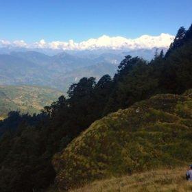 Återresa Nepal, samtal med bergsutsikt