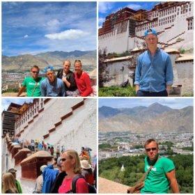 familjeresa Tibet och Nepal, bilder från Lhasa