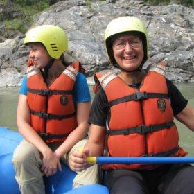 Rafting på Trisulifloden i Nepal