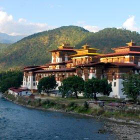 Vandringsresa Bhutan, Punakha Dzong