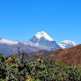 vandringsresa Bhutan, bergstopp i Bhutan