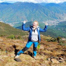 Vandringresa Bhutan, Marta på vandring