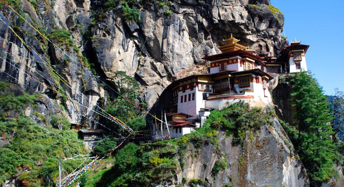 Resa Bhutan Tigerns Näste