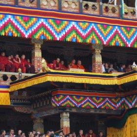 Bhutanresa, i Thimpu Dzong