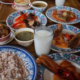 Bhutanresa, bhutanesisk mat