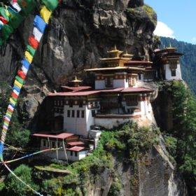 Bhutanresa, tigerns näste, Paro