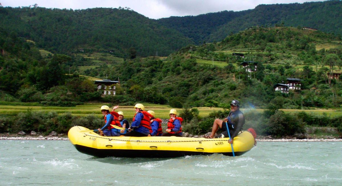 Resa Bhutan rafting
