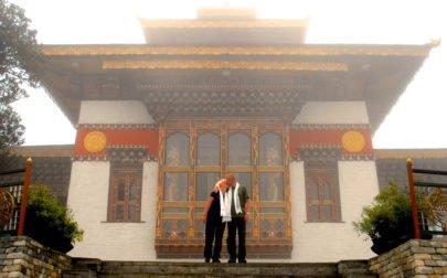Bhutanresa, bröllop i ett kloster i Bhutan