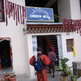 Bhutanresa, restaurang i Bhutan