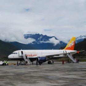 Flyg till Bhutan