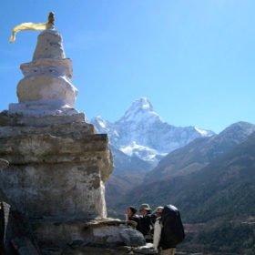 På väg mot EBC Nepal