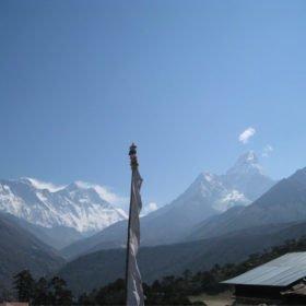 EBC Nepal, Mt Everest, Lhotse och Ama Dablam
