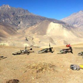 Montainbikeresa Nepal