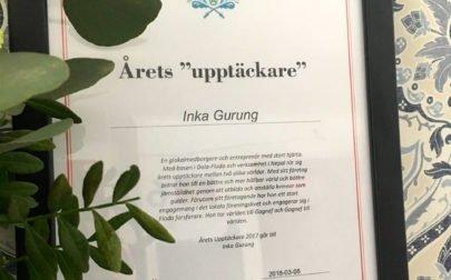 Årets upptäckare Inka Gurung