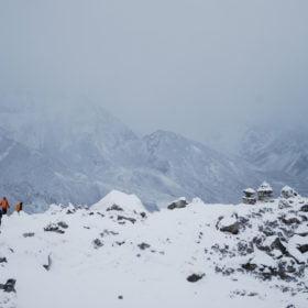 Stenmonument över förolyckade bergsbestigare