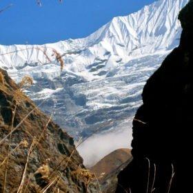 Bergsvyer på väg till Annapurna Basecamp