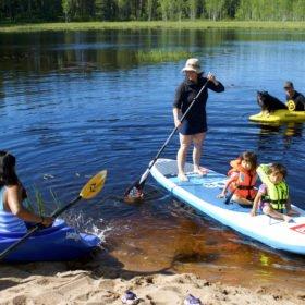 paddlingskurs i Dala-Floda