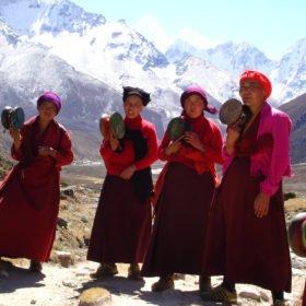 buddistiska nunnor