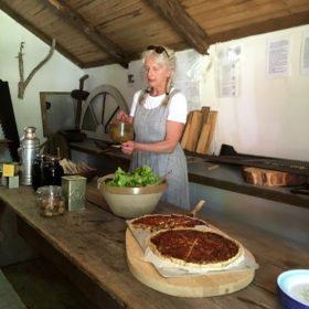 lunch från Dala-Floda Värdshus äventyr i Dalarna