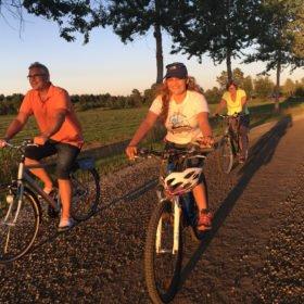 cykling på äventyr i Dalarna