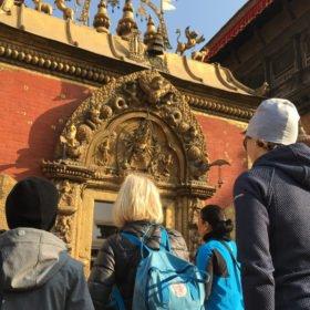 Vackra detaljer rundresa Nepal