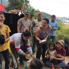 födelesedagskalas rundresa Nepal