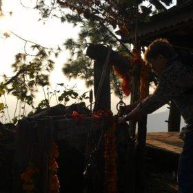hinduiskt tempel rundresa Nepal
